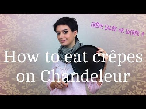 How to eat crêpes on Chandeleur
