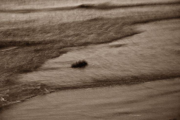 Saint-Malo Sur la plage, le soir Vagues