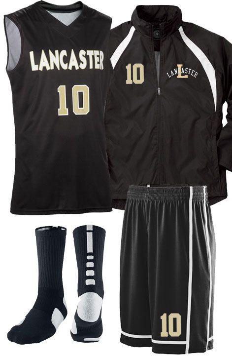 Basketball uniform idea from TeamSportswear.
