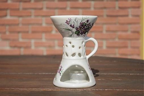 Vonná lampa - fialka by handloved - SAShE.sk - Handmade Svietidlá a sviečky
