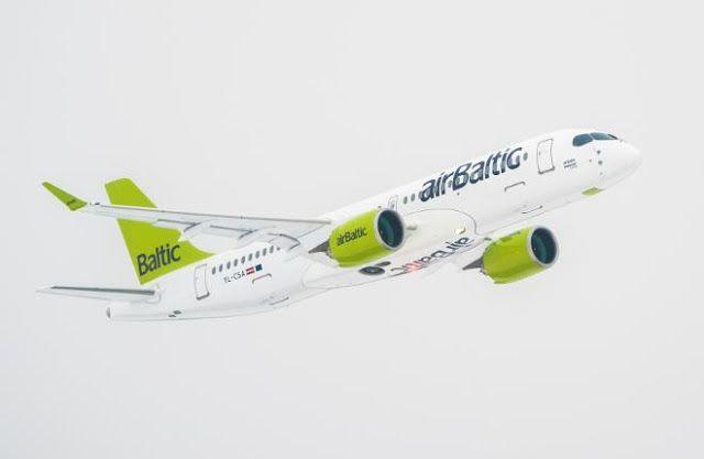 Транспортный блог Saroavto: AirBaltic полностью переведет парк на самолеты CSe...