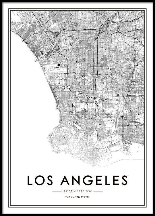 Los Angeles Poster in der Gruppe Poster / Größen…