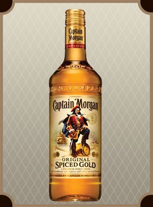 Captain Morgan Spiced Gold 1.0 л. (Капитан Морган Спайсд Голд)