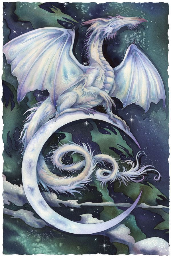 Bergsma Gallery Press :: Paintings :: Fantasy :: Mythological Creatures :: Touch The Moon, Reach The Stars - Prints