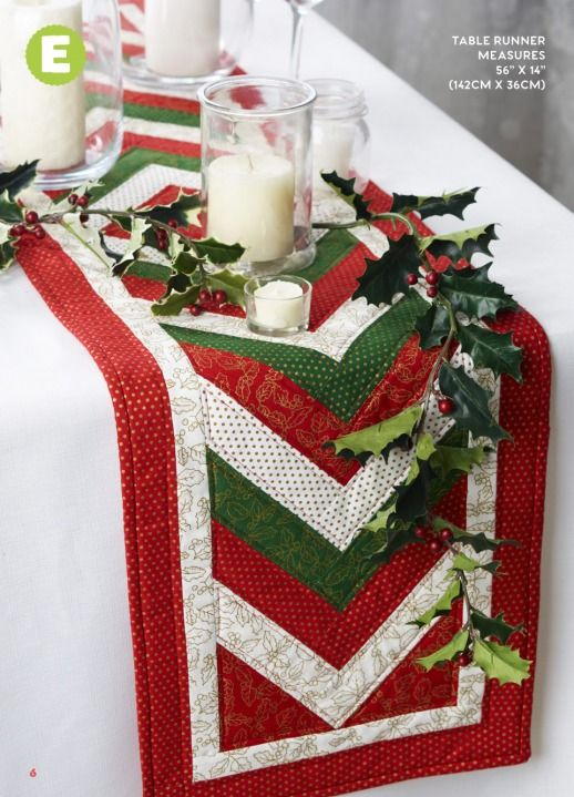 braided christmas table runner