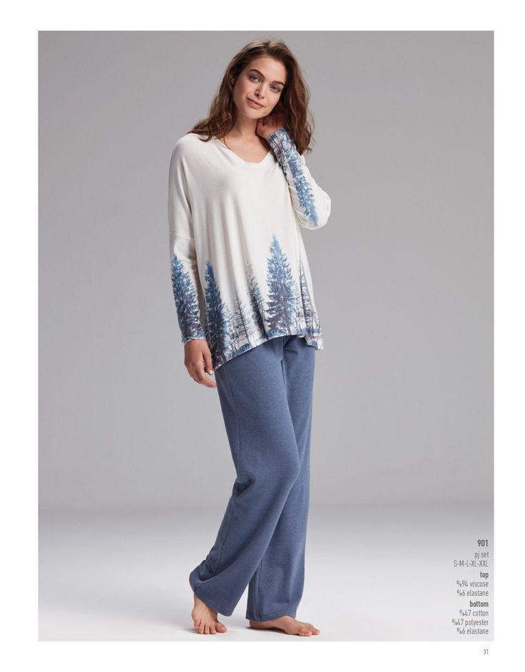 Catherine's 901 Bayan Pijama Takım https://www.mark-ha.com/bayan-pijama-takim #BayanPijama #OnlineBayanPijama #2017BayanPijama #BayanGiyim #EvGiyimi #KışlıkBayanPijama #YeniSezon #Sonbahar #markhacom #Mavi #Ekru #Desenli