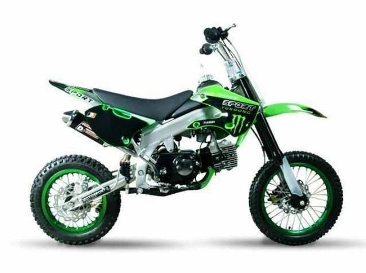 kawasaki 50cc dirt bikes pinterest. Black Bedroom Furniture Sets. Home Design Ideas