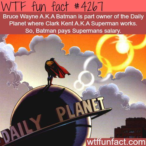 Batman v Superman - WTF fun facts