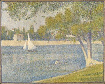 Georges Seurat : La Seine à la Grande-Jatte