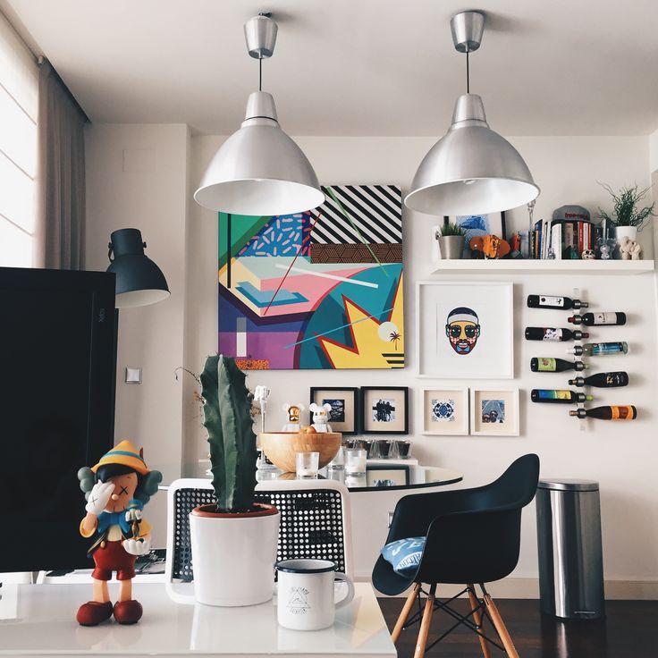 Home Decoators: Antonyo Marest + Kaws + Bearbrick