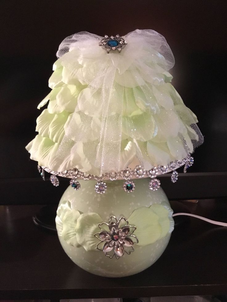 A personal favorite from my Etsy shop https://www.etsy.com/listing/514989306/rose-petals-lamp-light-green