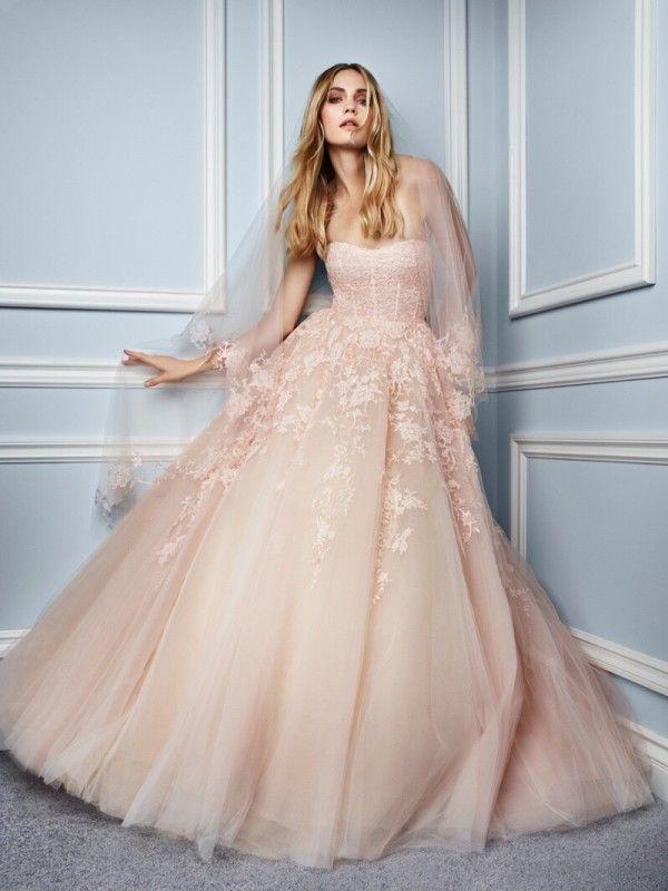 44 best Monique Lhuillier images on Pinterest | Wedding frocks ...