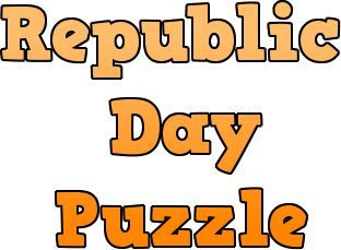 Republic Day Puzzle - An interesting republic day game in which participants have to find the word Republic Day 18 times in minimum time.