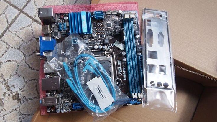 ASUS P8H61-I Intel H61 Motherboard Socket 1155 LGA1155 DDR3 Mini ITX 2 SATA  #ASUS