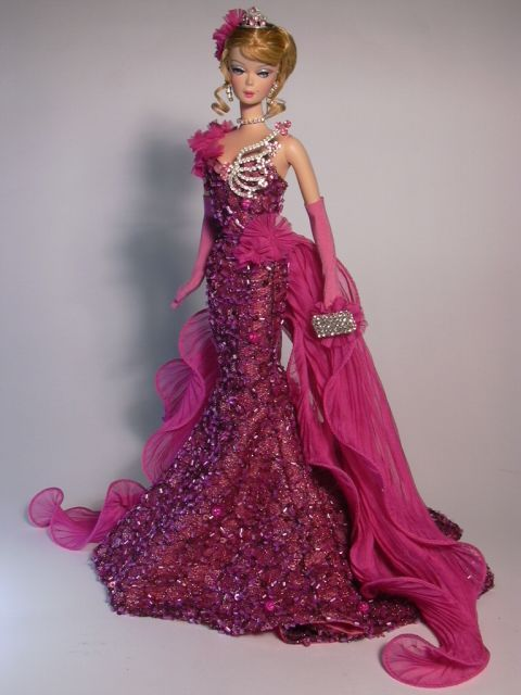 Barbie Purple Breath Artist Creations Italian O.O.A.K. Fashion Dolls by Alessandro Gatti e Giuseppe De Bellis