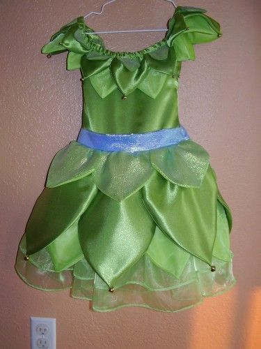 Tinkerbell Dress- Girls Sizes | Ladymantis - Clothing on ArtFire