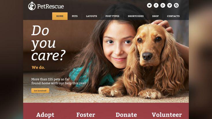 Pet Rescue - Animals & Shelter Charity WP Theme - http://themeforest.net/item/pet-rescue-animals-shelter-charity-wp-theme/9347370?ref=blackhatdunyasi