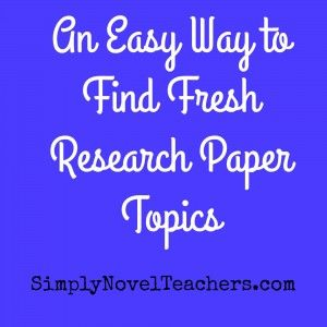 Research writing portfolio for upper middle and high school English  Pinterest