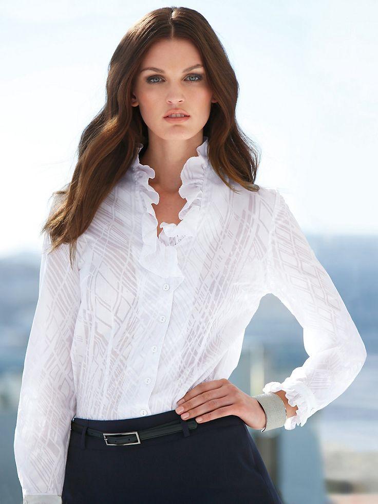 Peter Hahn - Le chemisier - blanc...my shirt!  LMO 2 euros!