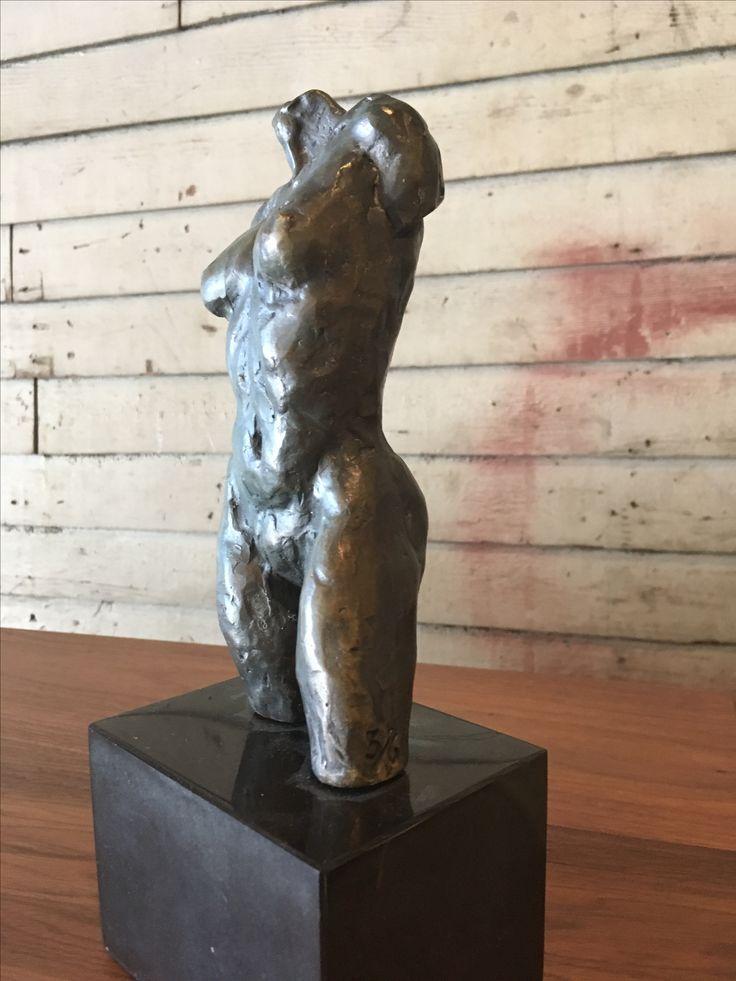 Bronze sculpture by Lynn Falconer. Falconerart.com