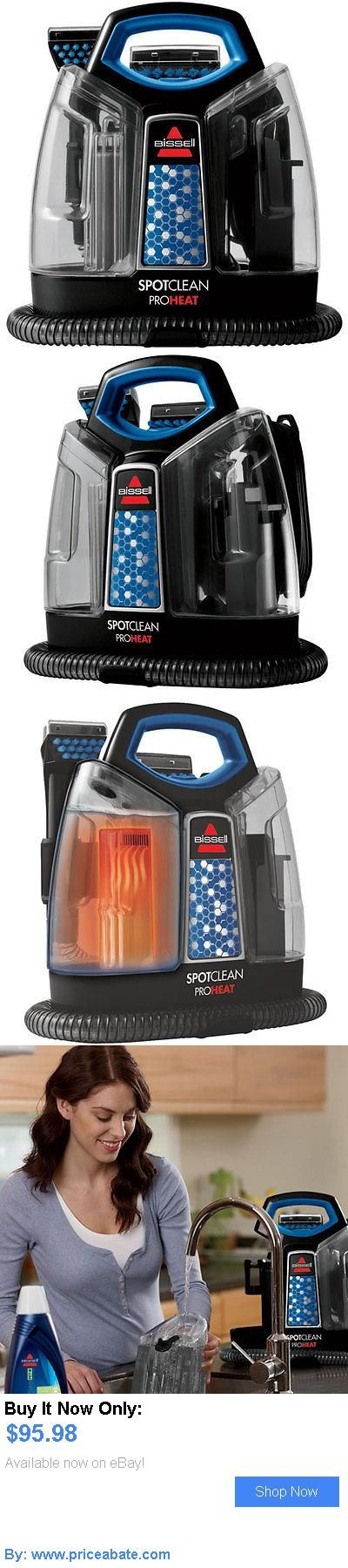 household items: Bissell Spotclean Proheat Portable Carpet Cleaner 5207 Handheld Stairs Auto New! BUY IT NOW ONLY: $95.98 #priceabatehouseholditems OR #priceabate
