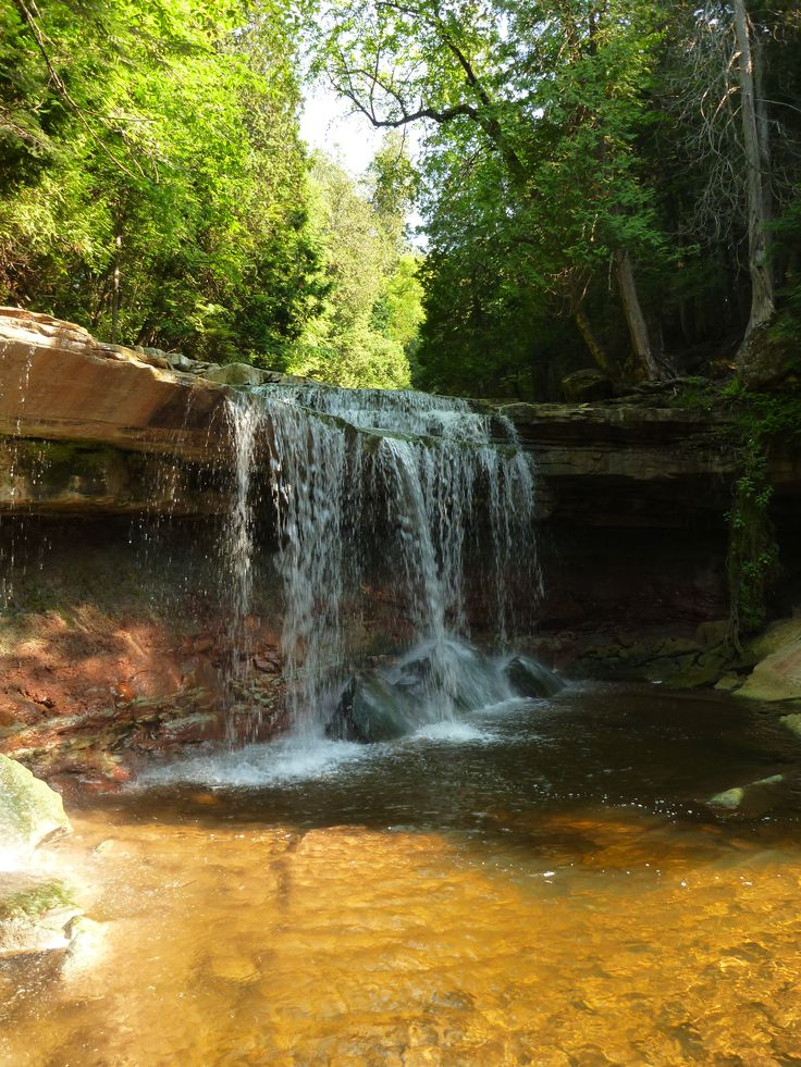 Cannings Falls: A Hidden Gem Near Orangeville, Ontario, Canada