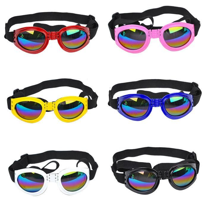 Keep your dog protected from UV rays with some neat dog goggles!