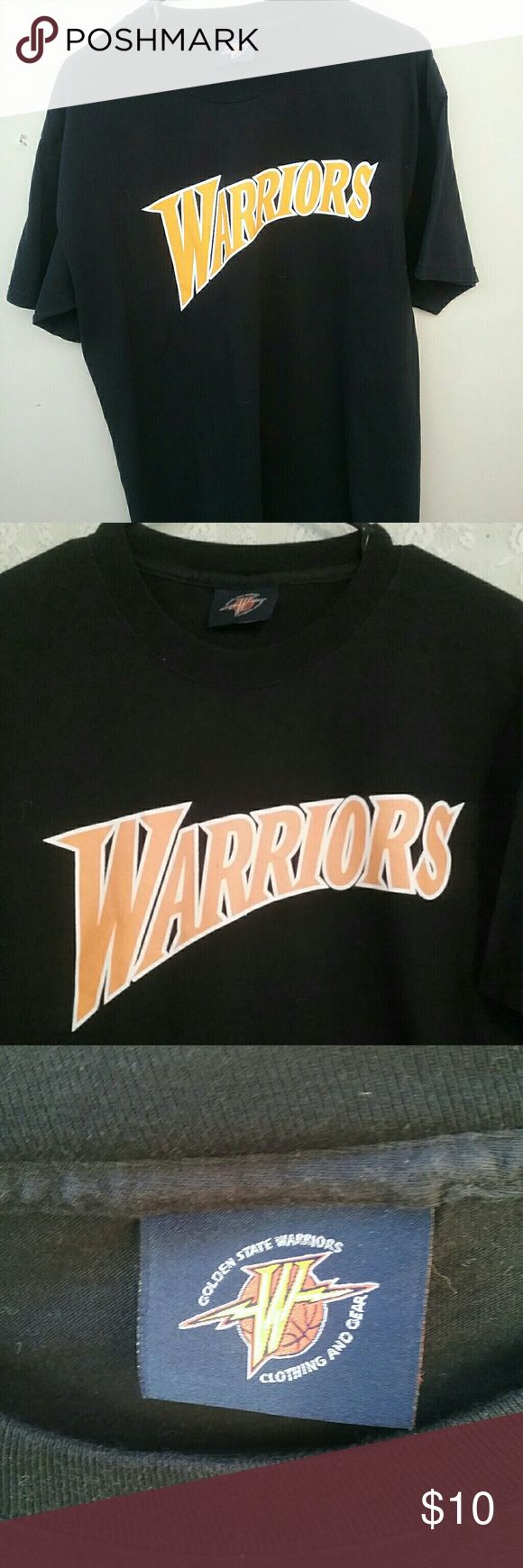 Warriors Tees 1 for $10  2 for $15 3 for $20 Tees.,lp, Shirts Tees - Short Sleeve