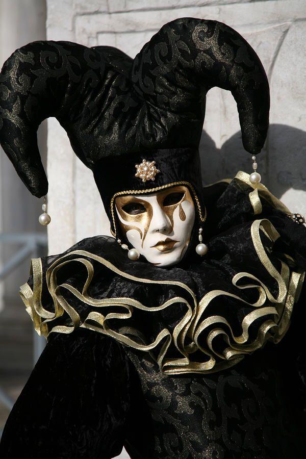 Venetian Jester Masks