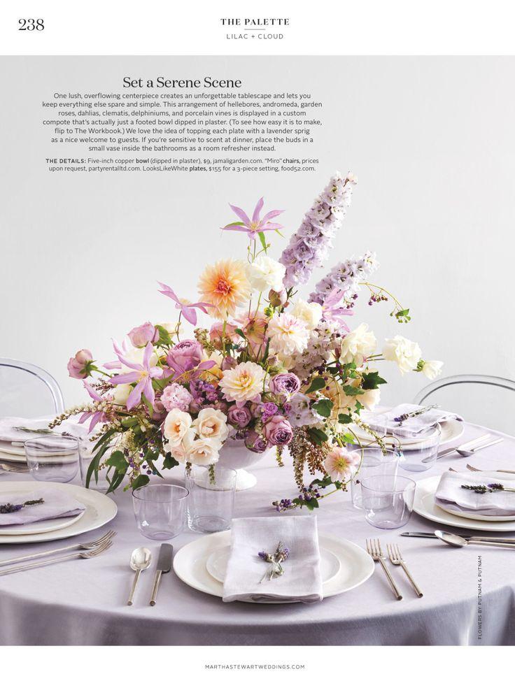73 best images about wedding colors on pinterest blue for Martha stewart floral arrangements