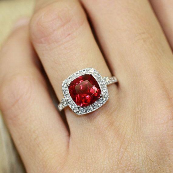 Best 20 Ruby ring vintage ideas on Pinterest Pretty rings Opal