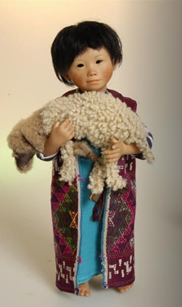 Josna, a boy from Tibet, by Amy van Boxel