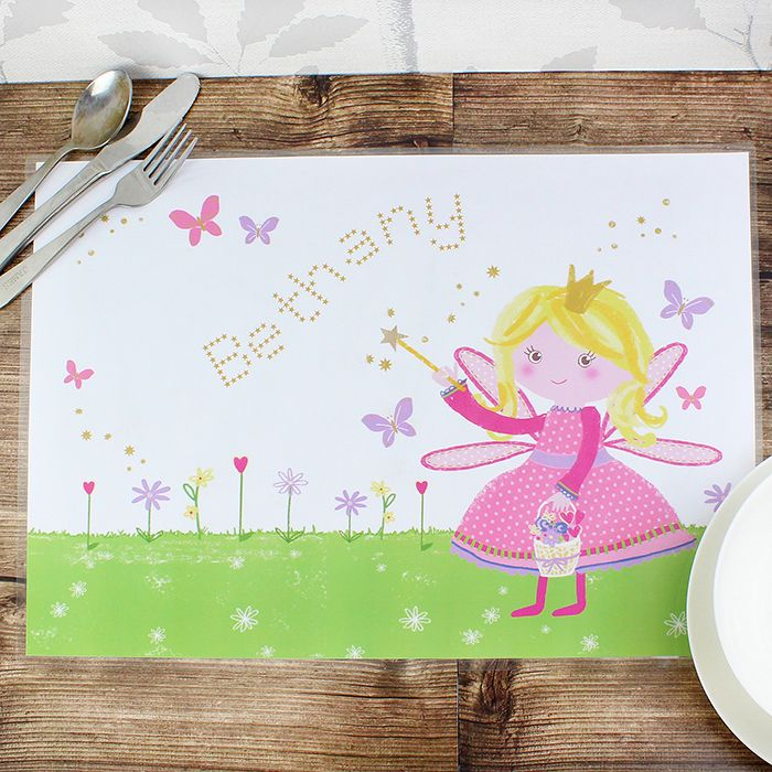27 best personalised easter gifts images on pinterest childrens personalised garden fairy placemat our popular ranges garden fairy ra birthday gifts for wife gifts for grandma negle Image collections