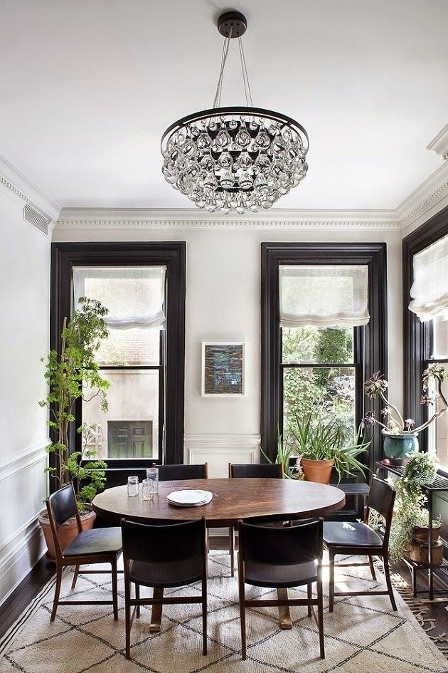 black molding - Savor Home: Interior Design