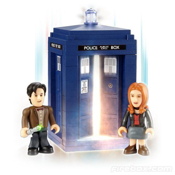 Doctor Who The TARDIS Mini Set - Need this to go with the kids' playmobils!!
