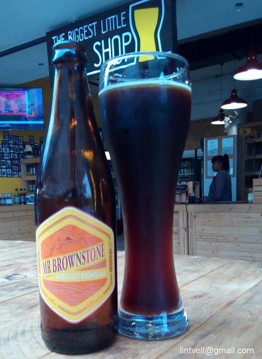 Woodstock Brewery Mr Brownstone