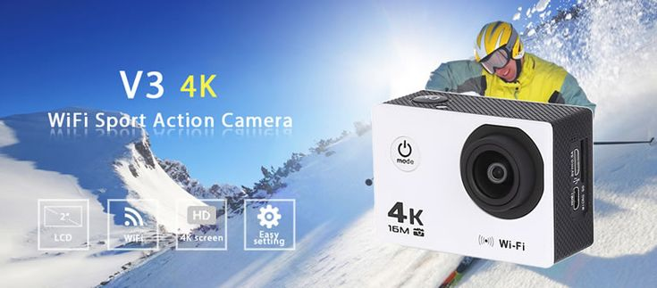 4K WiFi Sport Camera Is An Affordable, Yet Tough Action Camera That Does It All -  #4k #action #camera #sports