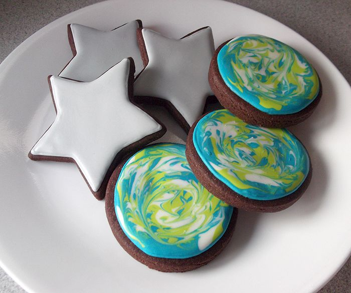 Easy party foods to try for a Miles from Tomorrowland Party: Cupcakes, Cookies, Cakes, and more.