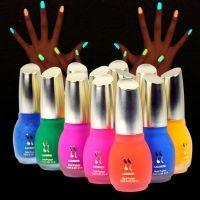 12 цветов 15 мл флуоресцентные неоновые ногтей искусство Польши свечение в Dark