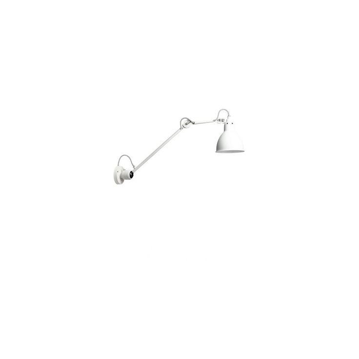 Lampe Gras 304 L40 Væglampe - Hvid