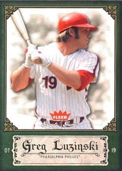 2006 Fleer Greats of the Game #46 Greg Luzinski Front