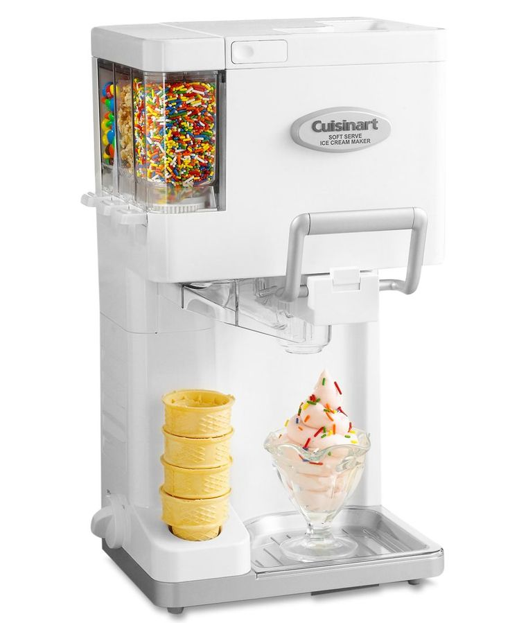 Ice Cream Maker Frozen Yogurt Sorbet 2qt Freezer Homemade Drink Dessert Party
