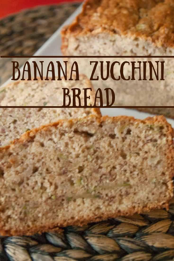 Banana Zucchini Bread Recipe Zucchini Bread Zucchini Banana