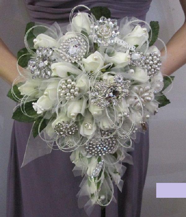 Diy Bouquet Wedding Cascade