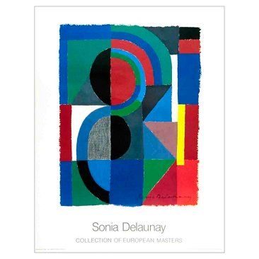 Check out this item at One Kings Lane! Sonia Delaunay, Viertel