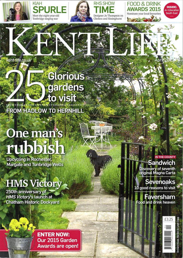 Check out our magazine feature in Kent Life April 2015!