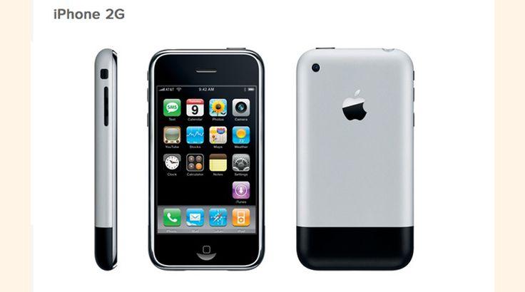 Evolución del iPhone #Gestion
