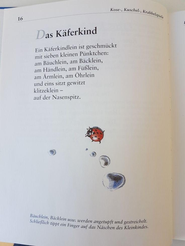 Das Käferkind #fingerspiel #krippe #kita #kleinkind #reim #gedicht #erzieherin #erzieher