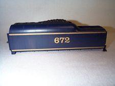 Lionel 2046 Wabash 672 Blue / Gold Tender Shell Part NOS EX