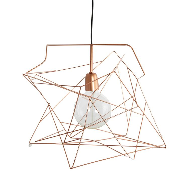 Asymmetric Lampskärm, Koppar - House Doctor - House Doctor - RoyalDesign.se